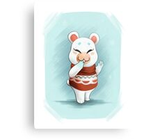 ACNL Flurry the Hamster Canvas Print