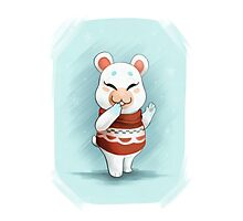 ACNL Flurry the Hamster Photographic Print