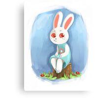 ACNL Ruby the Rabbit Canvas Print