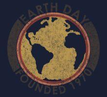 Earth Day: Old School Baby Tee