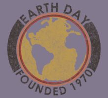 Earth Day: Old School Kids Tee