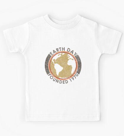 Earth Day: Old School Kids Tee