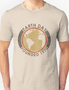 Earth Day: Old School Unisex T-Shirt