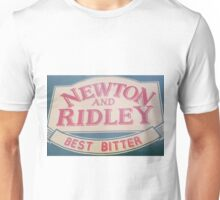 Newton and Ridley sign, Rovers return, Coronation street. Unisex T-Shirt
