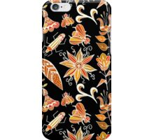 Girly Vintage Tribal Floral Pattern iPhone Case/Skin