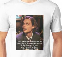 Dr. Spencer Reid 1 Unisex T-Shirt