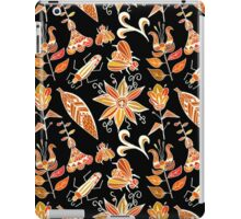 Girly Vintage Tribal Floral Pattern iPad Case/Skin