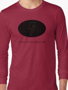 The Stars Looks Very Different Today Long Sleeve T-Shirt