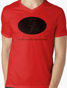 The Stars Looks Very Different Today Mens V-Neck T-Shirt