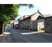 A street,Mostar Photographic Print