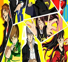Persona 4 by JamieC94