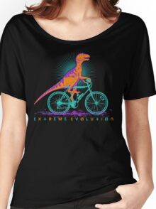 EXTREME EVOLUTION... the bicycle Women's Relaxed Fit T-Shirt