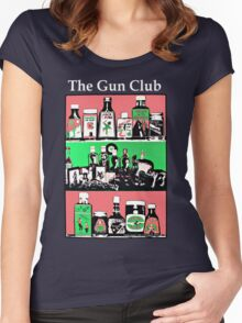 The Gun Club Women's Fitted Scoop T-Shirt