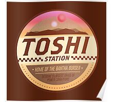 Toshi / Tosche Station Patch - Tatooine - Star Wars Poster