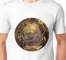 Messi 10 Gold Unisex T-Shirt