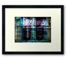 Manchester Mashup #12 Framed Print