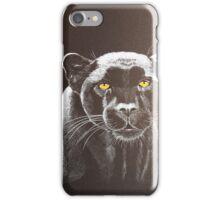 Night panther iPhone Case/Skin