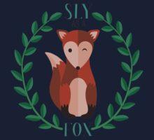 Sly as a Fox Kids Tee
