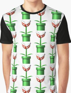 Mario Piranha Plant Graphic T-Shirt