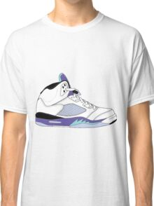 "Air Jordan V (5) ""White Grape"" Classic T-Shirt"