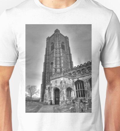 Church in B&W Unisex T-Shirt