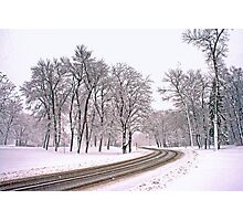 The Road To Winter Photographic Print
