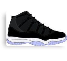 "Air Jordan XI (11) ""Space Jam"" Canvas Print"