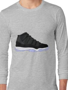 "Air Jordan XI (11) ""Space Jam"" Long Sleeve T-Shirt"