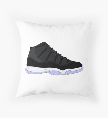 "Air Jordan XI (11) ""Space Jam"" Throw Pillow"