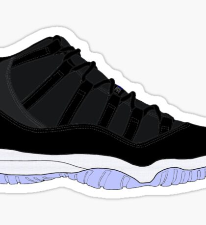 "Air Jordan XI (11) ""Space Jam"" Sticker"