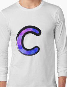Watercolor - C - purple Long Sleeve T-Shirt