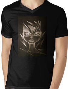 Graphite Queen  Mens V-Neck T-Shirt