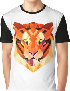 Minimalist Lion Face  Graphic T-Shirt