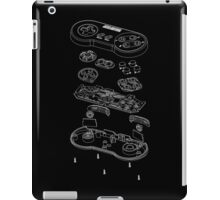 SNES: Just the Guts (white) iPad Case/Skin