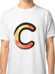 Watercolor - C - orange Classic T-Shirt
