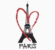 I love Paris Kids Tee