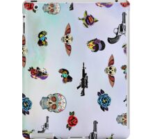 guns and roses  iPad Case/Skin