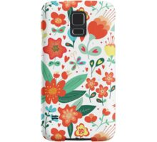 Cute flowers for Valentines Day Samsung Galaxy Case/Skin
