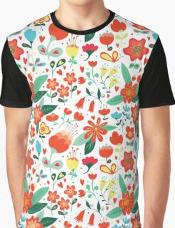 Cute flowers for Valentines Day Graphic T-Shirt