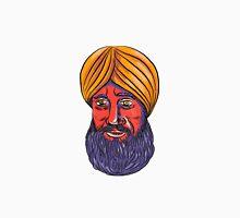 Sikh Turban Beard Watercolor Unisex T-Shirt