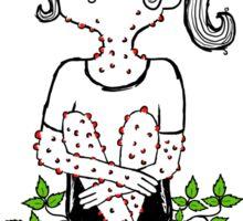 Poison Ivy by Sarah Pinc Sticker