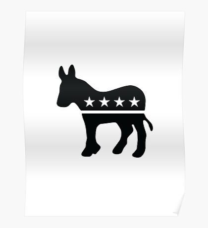 Proud Democrat Poster