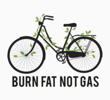 Burn fat not gas Kids Clothes