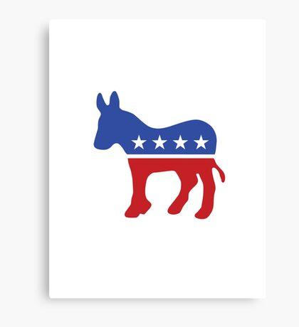 Proud Democrat Canvas Print
