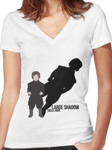 Tyrion Lannister - GOT Women's Fitted V-Neck T-Shirt