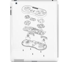 SNES: Just the Guts (black) iPad Case/Skin