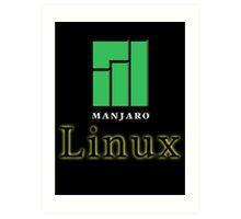 LINUX MANJARO Art Print