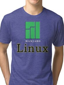 LINUX MANJARO Tri-blend T-Shirt