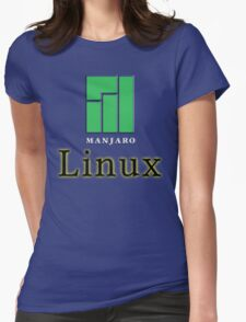 LINUX MANJARO Womens Fitted T-Shirt