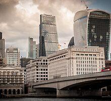 London skyline by RJDowns